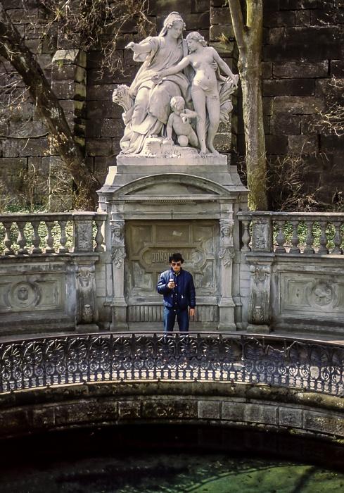 Fürstlich Fürstenbergischer Schlosspark: Donauquelle Donaueschingen 1982