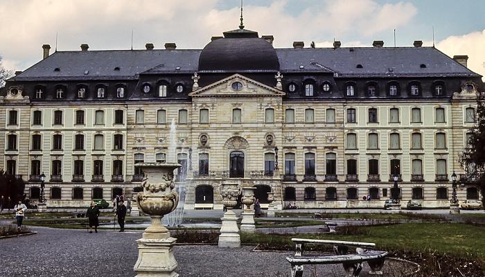 Fürstlich Fürstenbergischer Schlosspark, Fürstlich Fürstenbergisches Schloss Donaueschingen 1982
