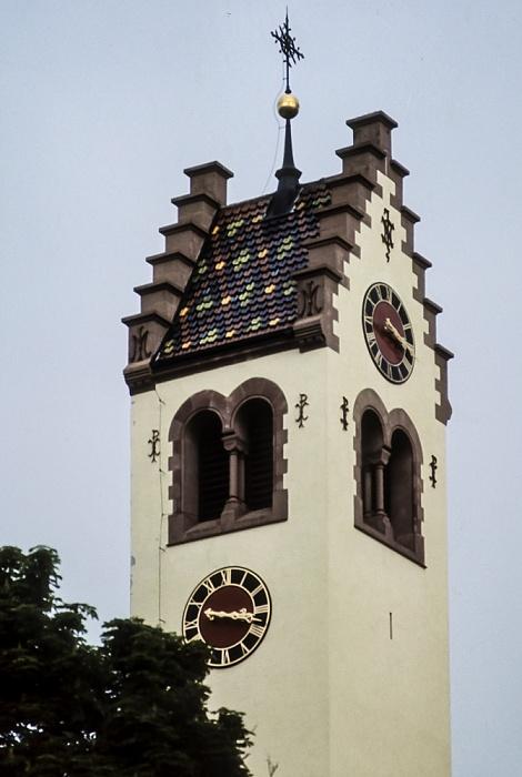 Kirche St. Johannes der Täufer Donaueschingen 1982