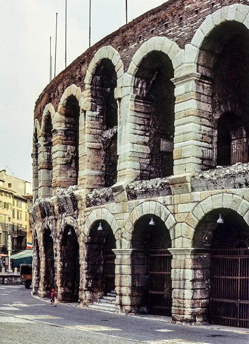 Centro Storico (Altstadt): Arena di Verona Verona 1982