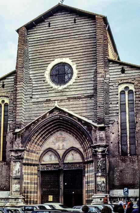 Centro Storico (Altstadt): Basilica di Santa Anastasia Verona 1982