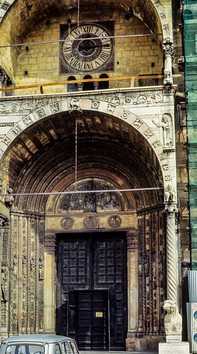 Centro Storico (Altstadt): Duomo Cattedrale di Santa Maria Matricolare Verona 1982