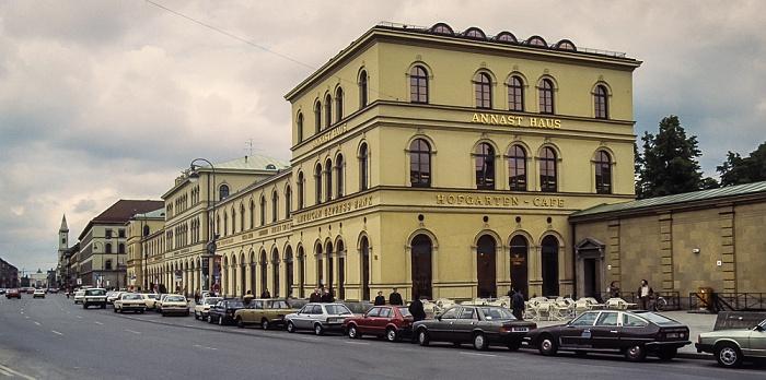 Odeonsplatz: Bazar München 1983