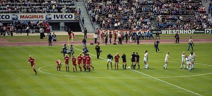 Olympiastadion: Bundesligaspiel FC Bayern München - FC Schalke 04 München 1983