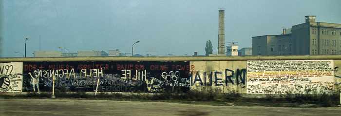 Potsdamer Platz / Leipziger Platz, Berliner Mauer Berlin 1983