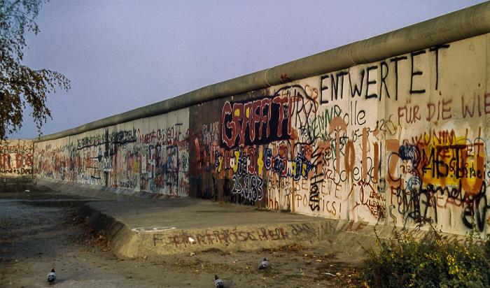 Potsdamer Platz, Berliner Mauer Berlin 1983
