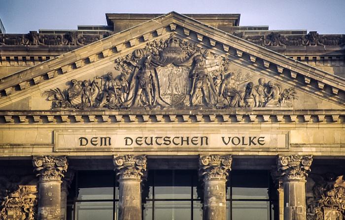 Reichstagsgebäude Berlin 1983