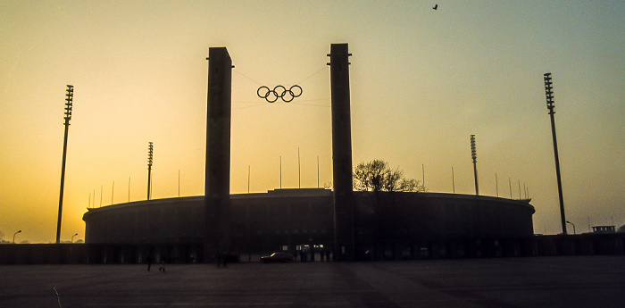 Berlin Olympiastadion Bayernturm Olympisches Tor Preußenturm