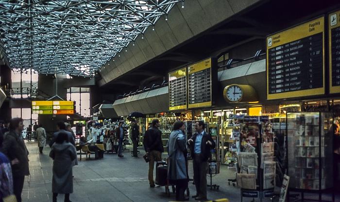 Flughafen Tegel Berlin 1983