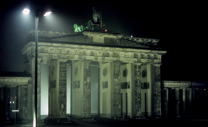 Brandenburger Tor Berlin 1983