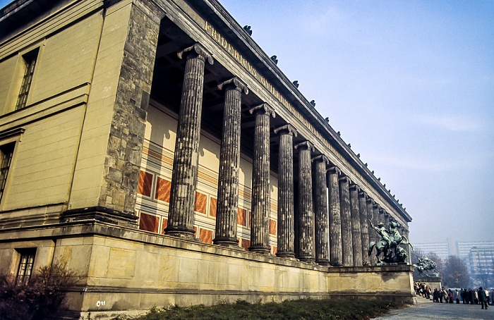 Mitte: Museumsinsel - Altes Museum Berlin 1983