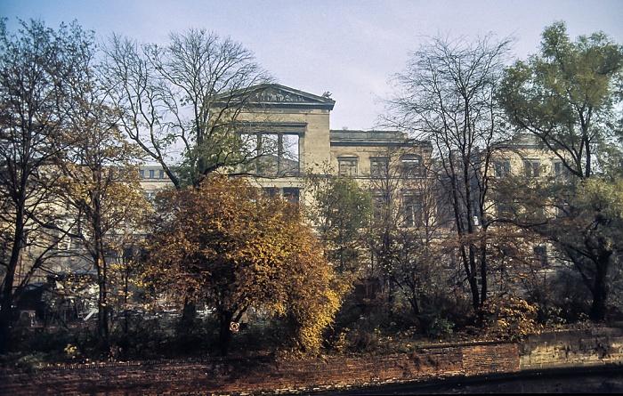 Mitte: Museumsinsel - Neues Museum (Ruinen) Berlin 1983