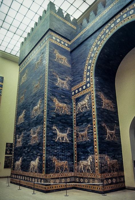 Pergamonmuseum: Ischtar-Tor von Babylon Berlin 1983