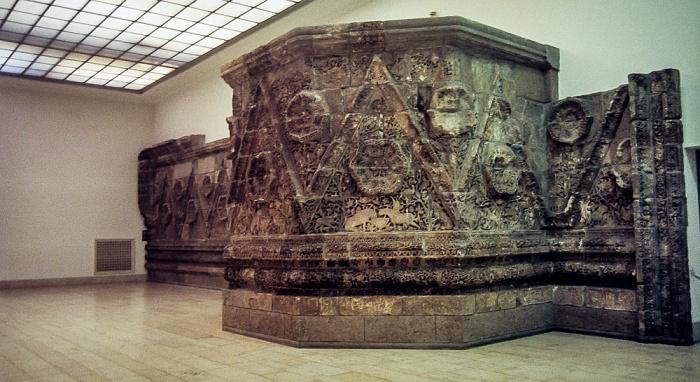 Pergamonmuseum: Fassade des Palasts von Mschatta Berlin 1983