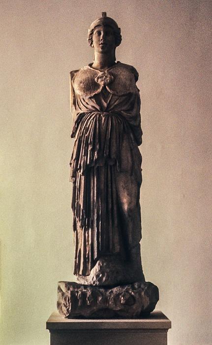 Pergamonmuseum: Statue der magnesischen Hauptgöttin Artemis Leukophryne Berlin 1983