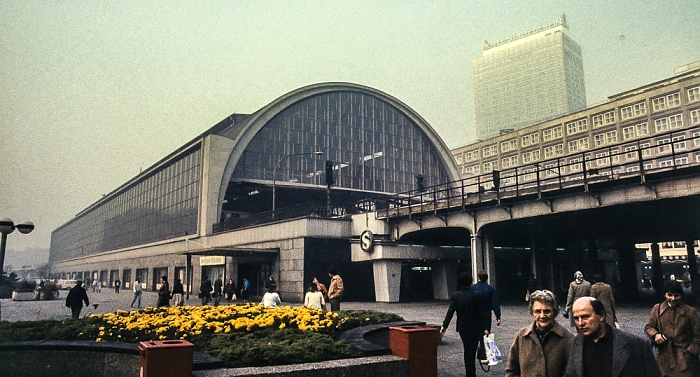 Bahnhof Alexanderplatz Berlin 1983