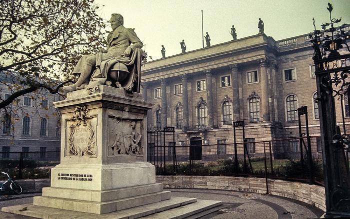 Unter den Linden: Humboldt-Universität Berlin 1983