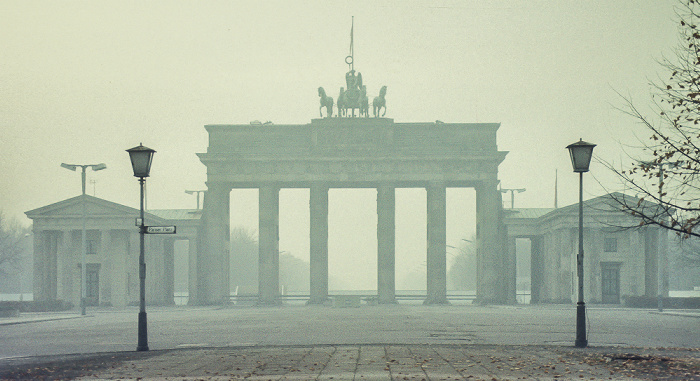 Pariser Platz, Brandenburger Tor Berlin 1983