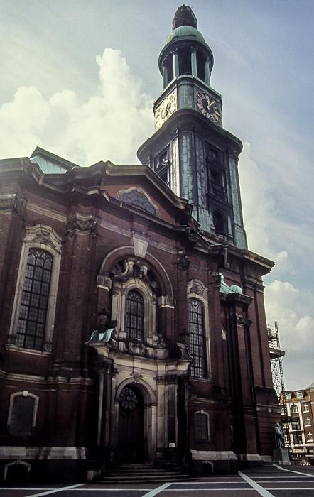 St.-Michaelis-Kirche (Michel) Hamburg 1984
