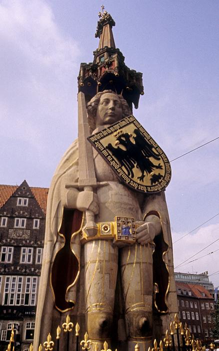 Bremen Marktplatz: Roland