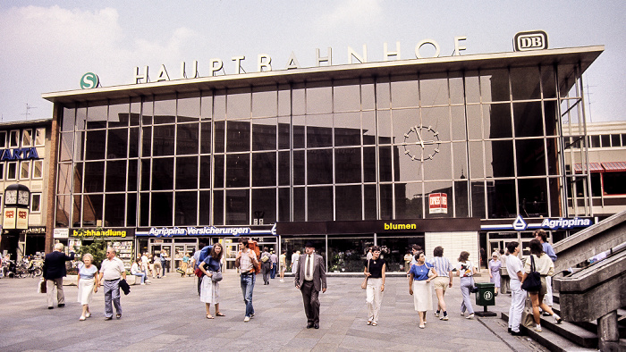 Hauptbahnhof Köln 1984