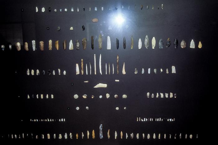 Römisch-Germanisches Museum: Schneidewerkzeuge Köln 1984