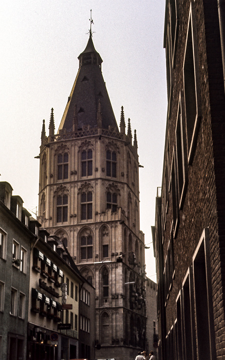 Kölner Rathaus Köln 1984