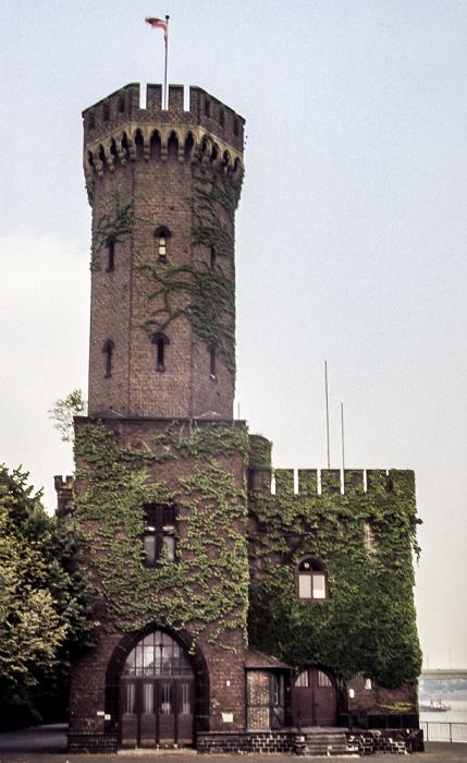 Rheinauhafen: Malakoffturm Köln 1984