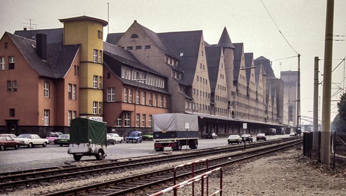Rheinauhafen: Lagerhallen Köln 1984