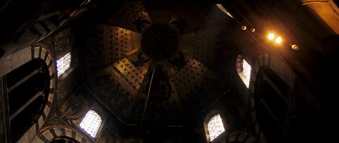 Aachener Dom (Kaiserdom): Karolingisches Oktogon (Pfalzkapelle)