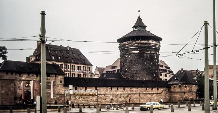 Frauentormauer, Frauentorturm Nürnberg 1984