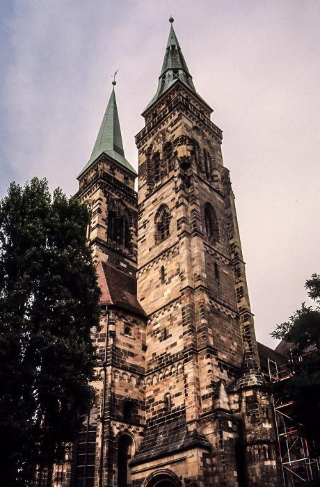 St. Sebald (Sebalduskirche) Nürnberg 1984