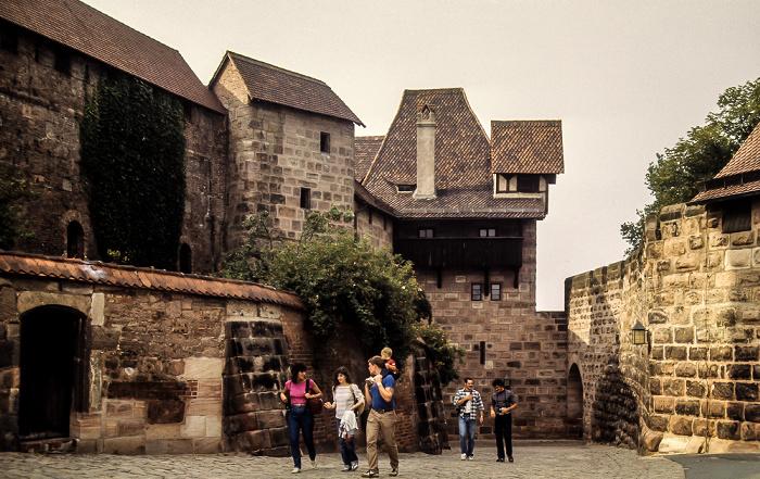 Burg: Freiung Nürnberg 1984