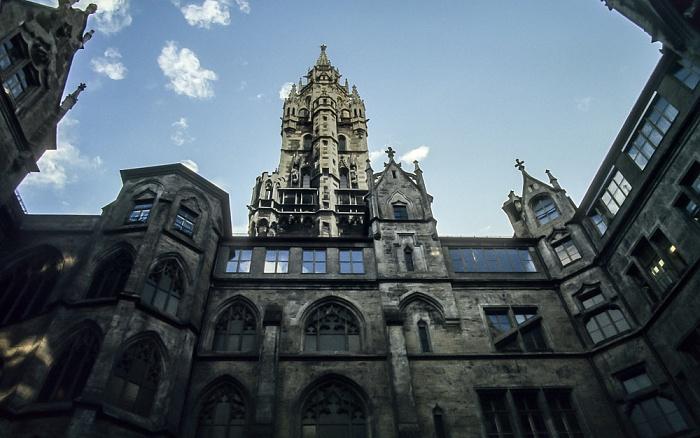 Neues Rathaus München 1984