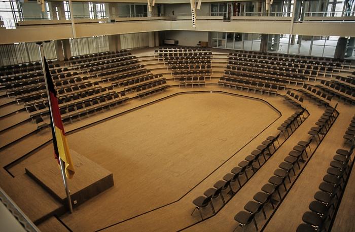 Reichstagsgebäude: Plenarsaal Berlin 1985