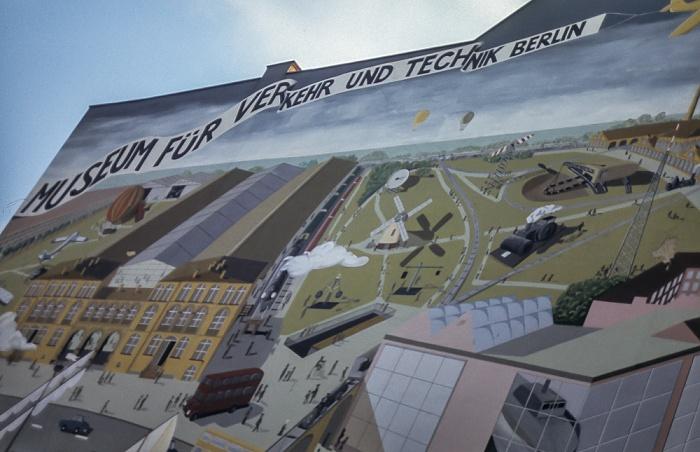 Kreuzberg: Museum für Verkehr und Technik Berlin 1985