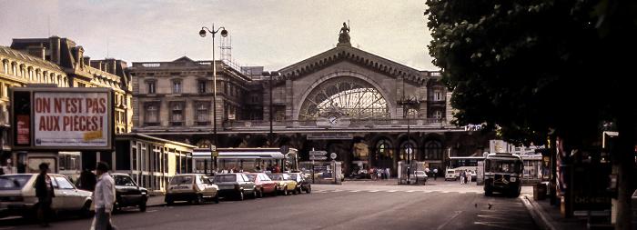 Gare de l'Est Paris 1985