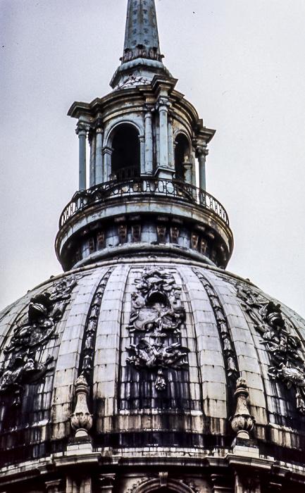 Hôtel des Invalides: Kuppel des Dôme des Invalides (Invalidendom) Paris 1985