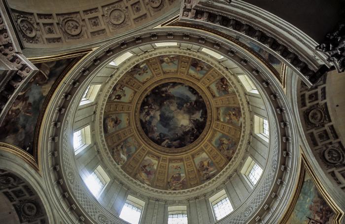 Dôme des Invalides (Invalidendom): Kuppel Paris 1985