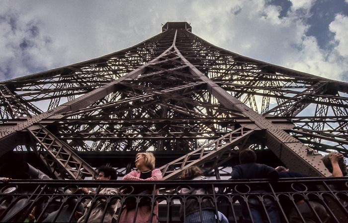 Eiffelturm (Tour Eiffel) Paris 1985