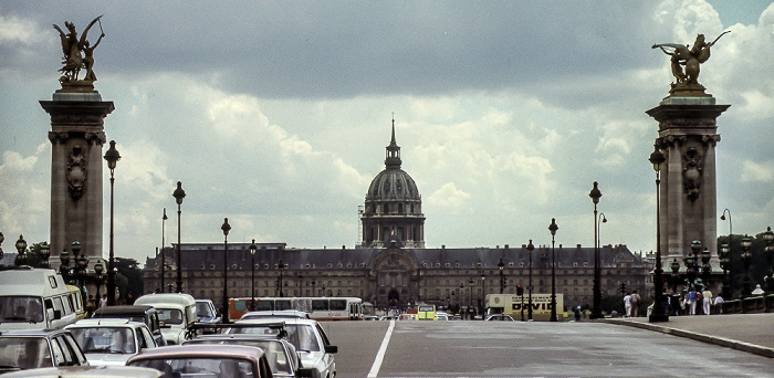 Pont Alexandre lll, Hôtel des Invalides, Dôme des Invalides (Invalidendom) Paris 1985