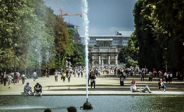Jardin des Tuileries Paris 1985