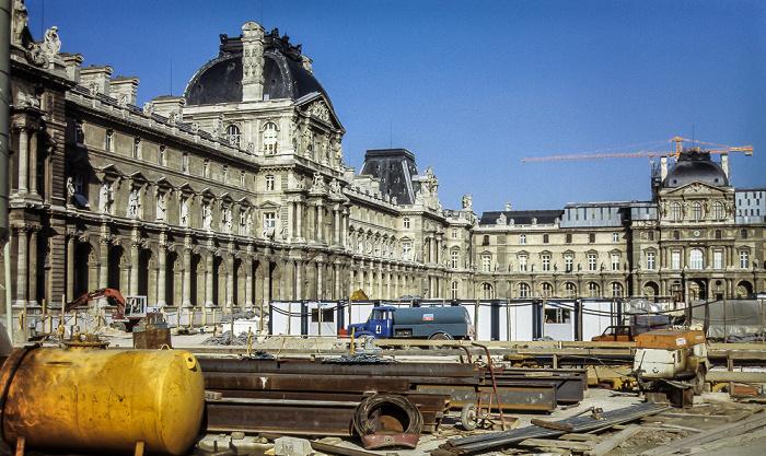 Musée du Louvre Paris 1985