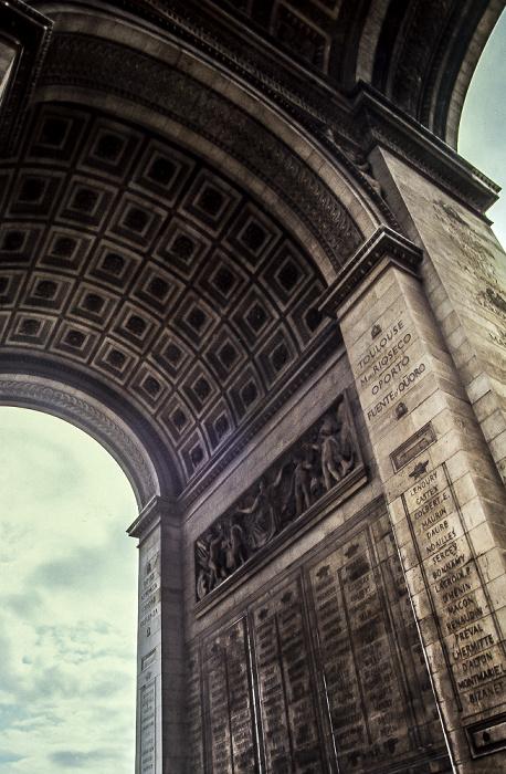 Arc de Triomphe Paris 1985