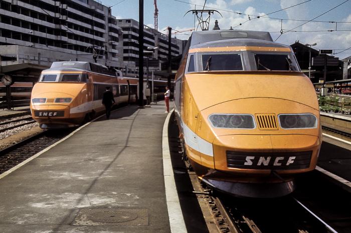 Interrail interrail 1985 frankreich gro britannien - Paris gare de lyon porte de versailles ...