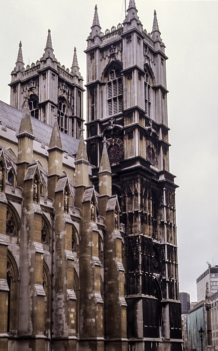 City of Westminster: Westminster Abbey London 1985