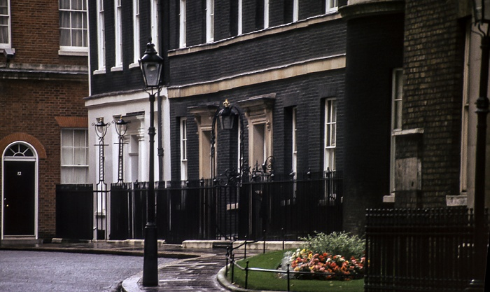City of Westminster: Downing Street Nr. 10 London 1985