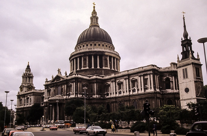 City of London: St Paul's Cathedral London 1985