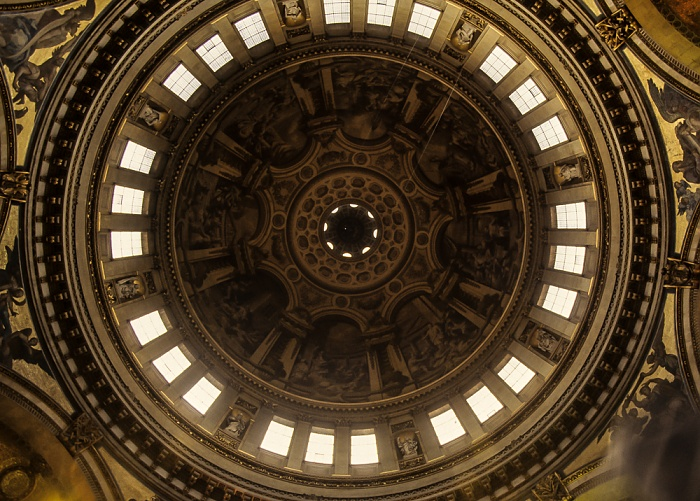 St Paul's Cathedral: Kuppel London 1985