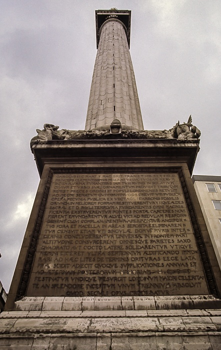 City of London: Monument London 1985
